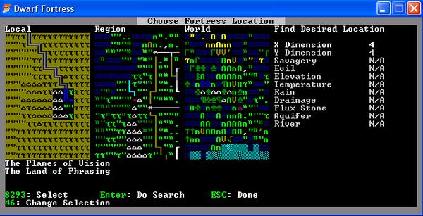 VSite Finder Dwarf Fortress Wiki - Height above sea level finder