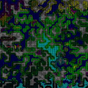 V034advanced world generation dwarf fortress wiki a large world generated with an elevation mesh size of 32x32 and range weights set to 10001 ie only extreme high and low elevations gumiabroncs Choice Image